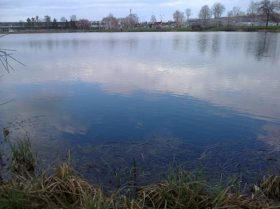 oblak u jezeru