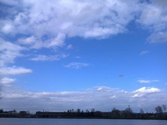 komad plavog neba
